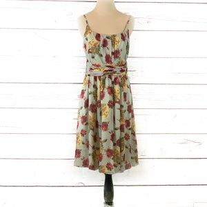 Anna Sui for Anthropology floral dress